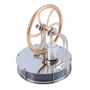 Yosoo Low Temperature Stirling Engine Motor Steam Heat Education Model Toy Kit Run Off the Temperature Difference