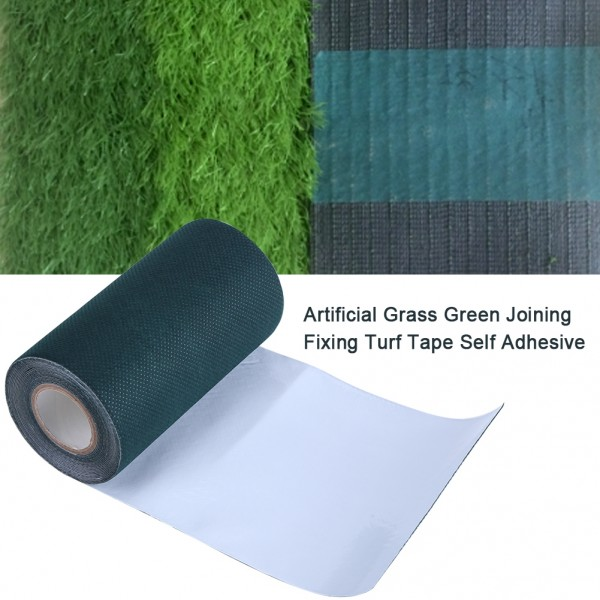 Rosilesi 1 x 5M Artificial Grass Jointing Tape Joining Fixing Turf Tape Self Adhesive Lawn Carpet Seaming